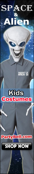 Space & Alien Kids Costumes - PartyBell.com