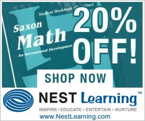 20% Off Saxon Homeschool at NestLearning.com