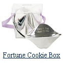 Chinese Fortune Cookie Takeout Box