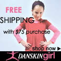 Free Shipping with $75 purchase at Danskin.com!