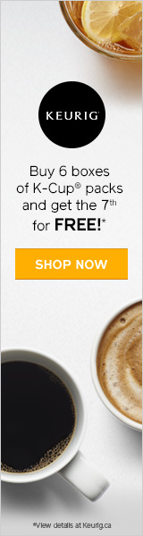 Buy 6 boxes of K-Cup packs and get 1 box free. SHOP K-CUP PACKS