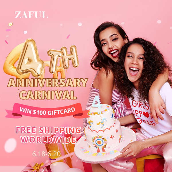 Zaful 4th Anniversary Sale