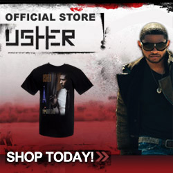 Usher Official Store - Shop Today