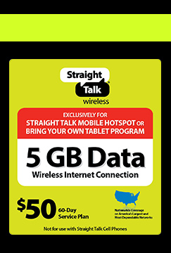 Straight Talk Promo Code for Mobile Hotspot Device + Mobile 5GB Data Plan for $129.99