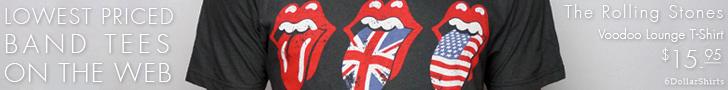 Rolling Stones Voodoo Lounge $15.95!
