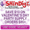 Save $10 on Valentine's Day Orders of $85+