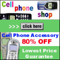Save 80% at Cell Phone Shop