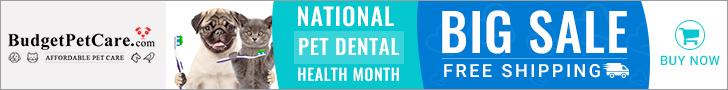 Super Sale on National Pet Dental Month