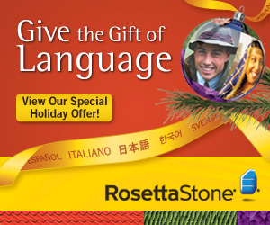 The Fastest Way to Learn a Language: Rosetta Stone