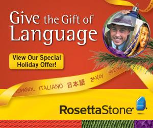 Get 10% off Rosetta Stone