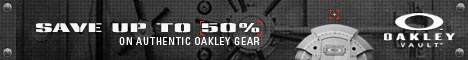 Oakley Vault - Up to 50% off everyday