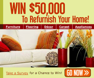 Refurnish Your Entire Home with $50,000