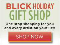 Shop Blick and save on art gifts!