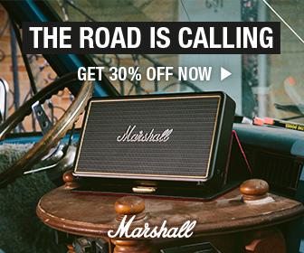Limited Offer – 30% off all Marshall® Portable Speakers