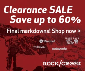 Save up to 60% on Outdoor Clothing & Gear