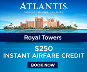 RECEIVE UP TO A $250 AIR CREDIT