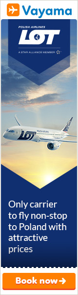 Vayama - LOT Polish Airlines: Great fares on flights to Europe!