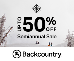 The Semiannual Sale - Up to 50% Off Clothing, Gear, and Accessories at Backcountry.com