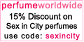 15% Discount on Sex in the City