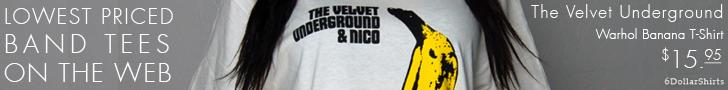 Velvet Underground Warhol Banana $15.95!