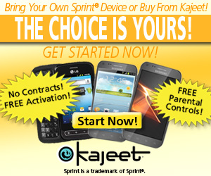 Activate any Sprint device on the Kajeet network
