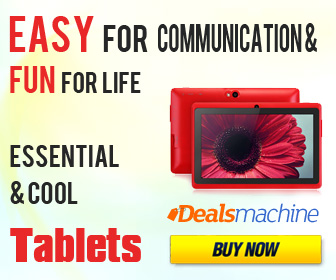 Essential and cool tablets! Easy for communication and fun for life! Dealsmachine.com