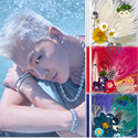 Poster + TAEYANG - 3rd Album[WHITE NIGHT] Random Ver. [BIGBANG]+Free shipping to All countries