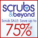 Save up to 75% on name brand scrubs at Scrubs & Be