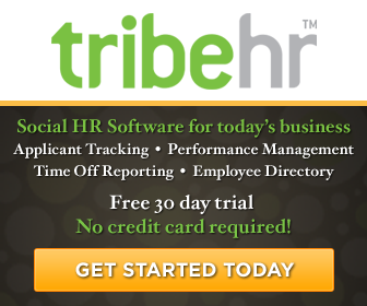 TribeHR - Social HR Software for today's business - Applicant Tracking - Performance Management - Ti