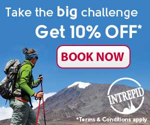 Intrepid Travel Big Challenge 300x250