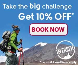 Intrepid Travel Big Challenge 300x250