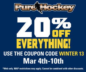 Pure Hockey sale goalie equipment lacrosse