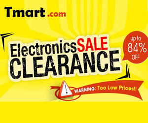 Electronic Clearance Sale - UP to 84% off