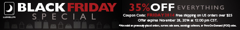 Black Friday Special: Save 35% with Coupon Code FRIDAY2014!