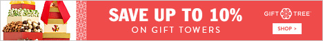 Save Up To 10% On Gift Towers