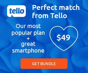 Tello plan + smartphone for only $49