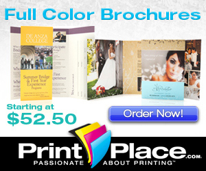Full Color Brochures from PrintPlace.com