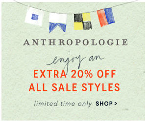 20% OFF all SALE styles!