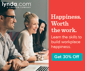 30% Off Any lynda.com Membership