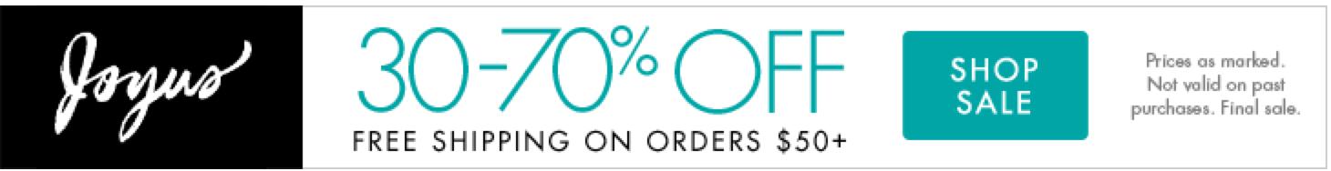 30-70% OFF Joyus