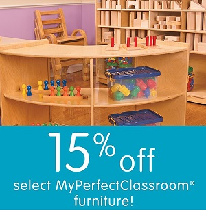 Image for SAVE 15% On MY PERFECT CLASSROOM FURNITURE + FREE SHIPPING At DiscountSchoolSupply.com!