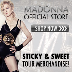 Madonna Sticky & Sweet Tour Merchandise