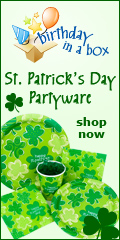St. Patrick's Day Banner 120x240