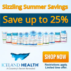 Save up to 25% at Iceland Health