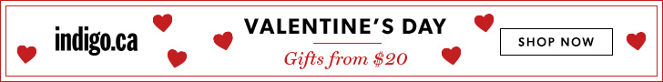 Valentine's Day Gifts from $20 at Indigo.ca