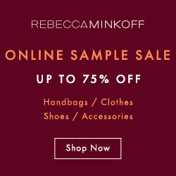 Rebecca Minkoff Online Sample Sale - Up to 75% Off!