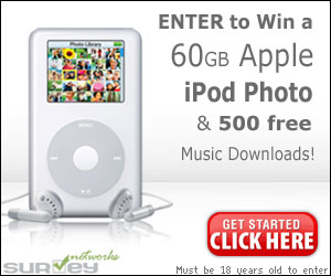 Win an Apple iPod!