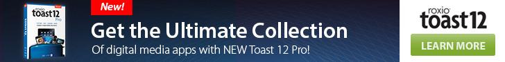 Buy Toast 6 Titanium at Roxio.com