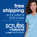 Free Shipping Available at Scrubs & Beyond!