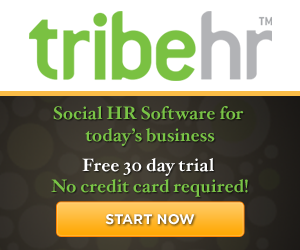 TribeHR - Social HR Software for today's business - Free 60 day trial - No credit card required! - S